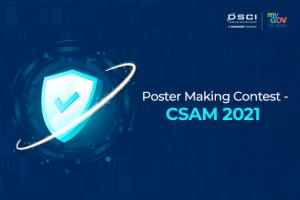Online Poster Making Competition- CSAM 2021 by MyGov [Cash Prizes of Rs. 20k]: Submit by Oct 31