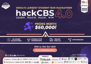 PRE EVENT: HackCBS 4.0 – Hackathon-cum-Conference by SSCBS, University of Delhi [Online, Oct 29-31]: Register by Oct 29