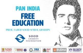 Prof. Saroj Sood Scholarships 2021 for PAN India Free Education by Sood Charity Foundation: Apply Now!