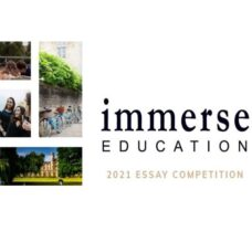 Summer School Essay Competition 2022 by Cambridge & Oxford [The Immerse Education]: Submit by Jan 5