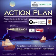 Action Plan: Social Entrepreneurship Competition at Abhyuday, IIT Bombay [Prizes worth Rs. 15 L]: Register by Nov 7